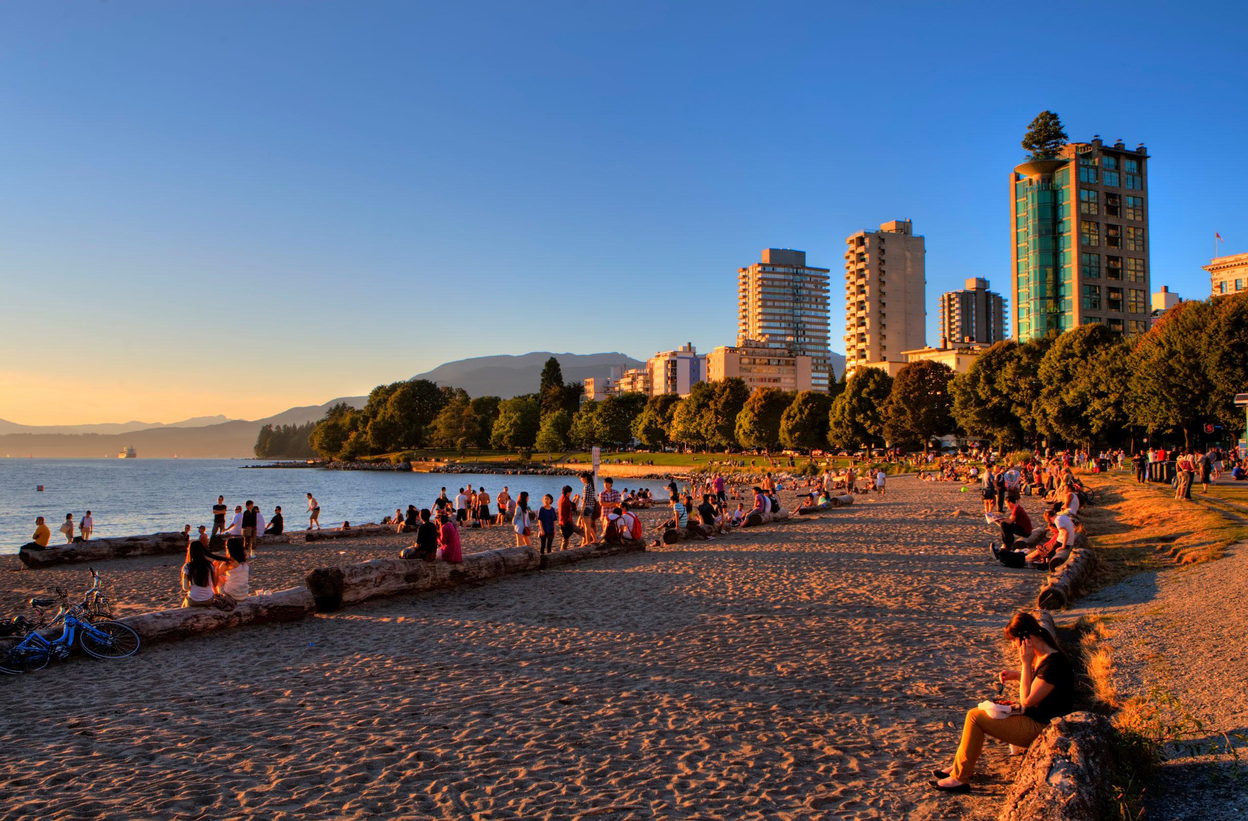 Vancouvers English Bay