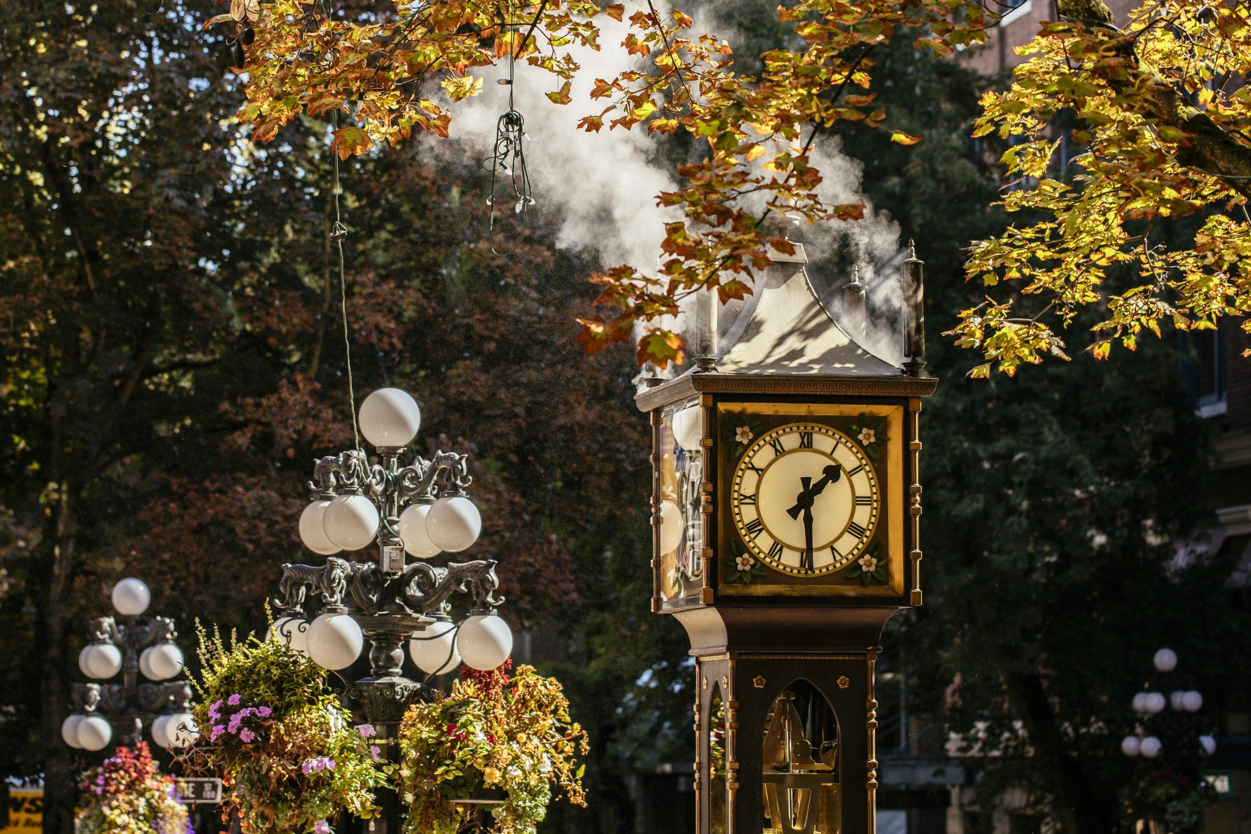 Steam Clock Gastown Vancouver
